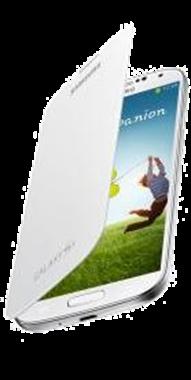 Samsung S4 Flip Cover Vit