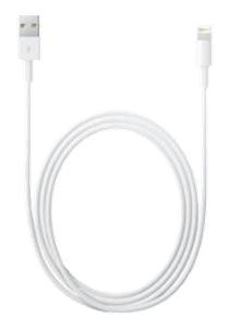 Apple Lightning till USB kabel 2m